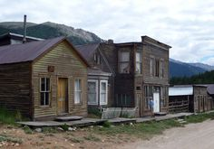 St. Elmo, ghost town in Colorado. Rode 4wheelers over Tin Cup Pass from here. What an amazing experience!