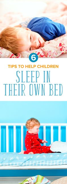 Tips on how to help your children sleep in their own bed. These are practical and gentle tips to help your child feel comfortable and safe in his bed. Try these tips tonight!