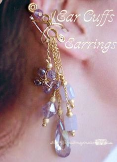 Wire Jewelry Tutorial to make Ear Cuffs  by MyWiredImagination, $6.00