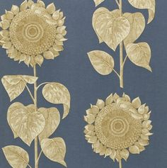 Palladio Sunflower Slate Blue/Gold DVIWPA103