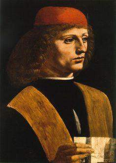 Retrato de un músico de Leonardo da Vinci