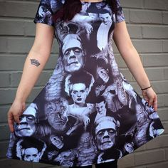 Best classic monsters dress.