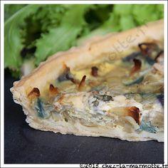 Tarte aux oignons et au bleu | Marmotte cuisine !