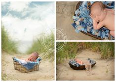 Sunset beach sessions are some of my favorites - and having a 5 day old beautiful boy and his gorgeous mommy who were wiling to model for me in that location was just the icing on the cake! Enjoy a peek at an outdoor newborn session in Virginia Beach! Baby Beach Pictures, Summer Baby Photos, Newborn Pictures, Twin Pictures, Beach Pics, Newborn Pics, Beach Shoot, Newborn Beach Photography, Photography Ideas