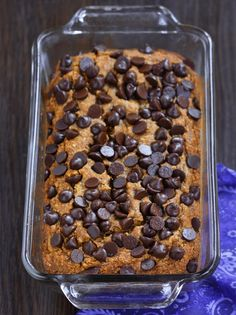 banana pumpkin bread (maple syrup) | chocolate covered katie