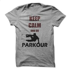 Keep calm and do Parkour - #shirt prints #long sweater. GET YOURS => https://www.sunfrog.com/LifeStyle/Keep-calm-and-do-Parkour.html?68278