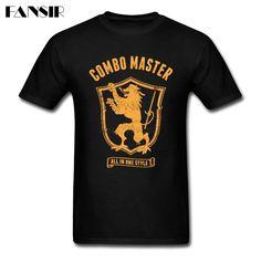 Funny T-shirt Mężczyźni Mężczyzna Combo Mistrz Logo Mężczyźni Koszulki Z Krótkim Rękawem Bawełna Klienta Zespół Lato Tees