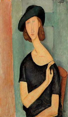 Portrait de Jeanne Hébuterne (1919) - Amedeo Modigliani