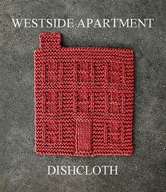 Another 'not crochet' but I like it. Westside apartment dishcloth by Amanda Ochocki.