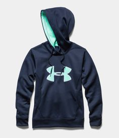 Women's UA Storm Armour® Fleece Big Logo Hoodie | Under Armour US