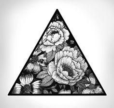 Triangle Art Print by Adroverart   Society6