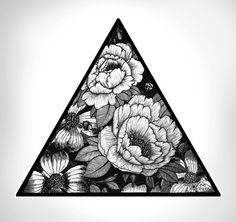 Triangle Art Print by Adroverart | Society6