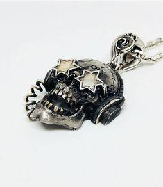 CH3 WILD, silver 925 Rock, Cufflinks, Jewels, Silver, Handmade, Accessories, Fashion, Glasses, Pendant