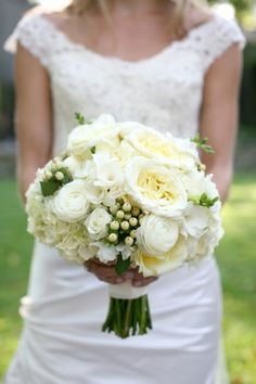 Classic bouquet with beautifully muted colors.