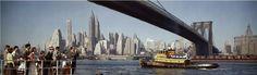 Brooklyn Bridge in Kodak Colorama