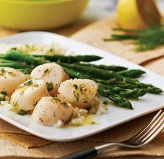 scallops with lemon vinaigrette