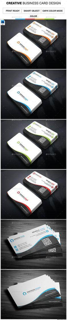 Creative Business Card Template #design #print Download: http://graphicriver.net/item/creative-business-card-08/11980026?ref=ksioks