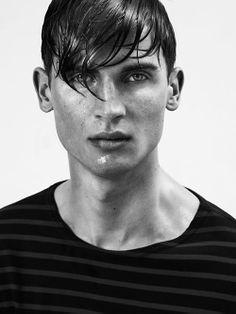 Mens Hair Style Wet