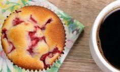 Le muffin idéal selon Weight Watchers! Yogourt grec, bananes et fraises