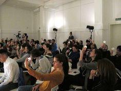 ¿De qué otra cosa cosa podríamos hablar? Areta Bolado, Carolina Fernández, Tito Asorey e Diana Mera.  Foto: Sara Valcárcel.