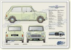Morris Mini-Minor Deluxe 1964 to 67