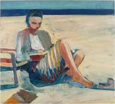 topcat77: Richard Diebenkorn Girl on the Beach - 1957