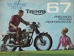 1967 Triumph Motorcycle Brochure |