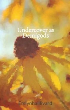 "You should read ""Undercover as Demigods"" on #wattpad #fanfiction"