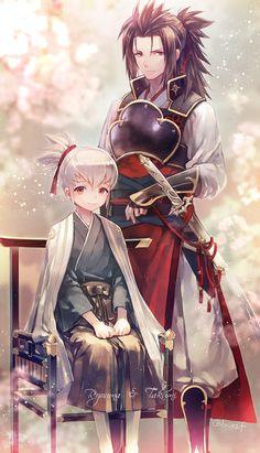 Fire Emblem Fates- Takumi and Ryoma
