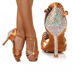 Cheap heeled dance shoes, Buy Quality latin dance shoes woman directly from China latin dance shoes Suppliers: High-grade imported satin Diamond Mid heel Dancing shoes Latin dance shoes women Adult Performance Shoes Professional dance hall Latin Dance Shoes, Latin Dance Dresses, Dancing Shoes, High Heels Boots, Hot High Heels, Girl Dancing, Swing Dancing, Ballroom Dance Shoes, Dance Hall