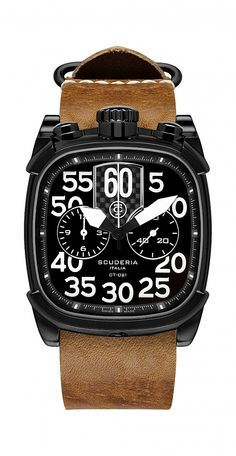 Motorcycle-Inspired Chronographs by CT Scuderia #watches