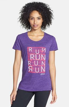 ASICS® 'Urban Run' Tee (Online Only) available at #Nordstrom