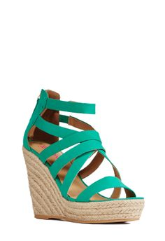 Elisha is the perfect pop of color in a spring time ensemble . l JustFab