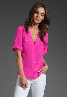 c994e498fcc Amanda Uprichard Pocket Tee in Hot Pink · Style RockWhite PantsRevolve  ClothingPassion For FashionLove ...