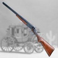 "Find quality non firing dummy guns & accessories, such as this Double Barreled ""Sawed-Off"" Stagecoach Shotgun, at Atlanta Cutlery Sbs Shotgun, Side By Side Shotgun, Wall Hanger, Hangers, Double Barrel, Shotguns, Firearms, Wild West, Transformers"
