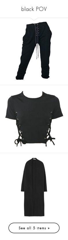 """black POV"" by polishzima ❤ liked on Polyvore featuring tops, cardigans, jackets, coats, coats & jackets, sweaters, mango tops, jacquard cardigan, long cardigan and long sleeve tops"