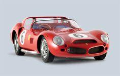 Ferrari 330 LM TRI #6 1962 Le Mans Winner Diecast Scale Model by Spark