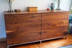 6 Drawer Serval Dresser by CedarRunFurniture on Etsy https://www.etsy.com/listing/294393563/6-drawer-serval-dresser
