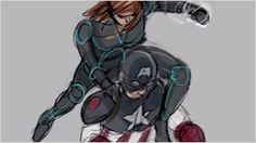 'Capitán América: Civil War': Así es la pelea entre Steve Rogers y Viuda Negra que casi sale en la película