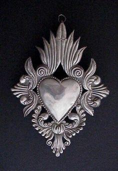 Vintage Sacred Heart Milagro