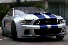 Which is your favourite Need for Speed car from the new movie trailer??? The Mustang, Bugatti, Mclaren P1, Koenigsegg Agera? Check them out by hitting the sweet ass Mustang...