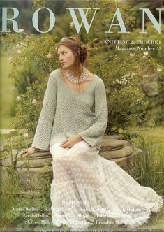 Easy Knitting Patterns for Beginners - How to Get Started Quickly? Rowan Knitting, Vogue Knitting, Knitting Books, Crochet Books, Vintage Knitting, Baby Knitting, Knit Crochet, Knitting Magazine, Crochet Magazine