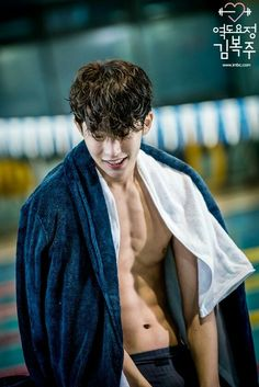 He is just so nice andbpretty in general but plus thoes toned abs. Nam Joo Hyuk Smile, Nam Joo Hyuk Abs, Jong Hyuk, Lee Jung Suk, Lee Hyun Woo, Lee Sung Kyung, Asian Actors, Korean Actors, Park Hyun Sik
