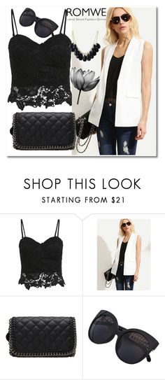 """8/9 romwe"" by fatimka-becirovic ❤ liked on Polyvore"