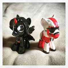 Custom Battlefront Shocktrooper & Darth Vader MLP (via Kimberly Johns)
