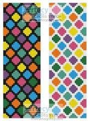 Image result for free counted cross stitch patterns for bookmarks