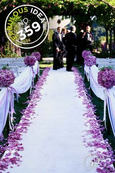 Aisle Ribbon/Bollards: Some people might not consider this addition to be a necessity but it really comes down to exactly what you're planning to do to decorate your aisle... If, like me, you're planning to have something loosely scattered down the aisle (petals, snow, sparkles, confetti etc.) and don't want it to be disturbed before you walk down the aisle then this idea might be for you. Alternatively, you can hire ushers to lead people, around the aisle, to their seats or you can invest…