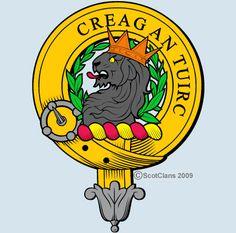 "MacLaren Clan Crest: The name of the clan MacLaren is known in Gaelic as ""Clann mhic Labhrainn""."