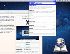 WikiBuddy for Mac OSX : have the world's largest encyclopedia at your fingertips l #freeapp