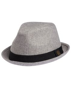 0605f5f3d48 ONE  amp  ONLY SOLID FEDORA MENS - Hurley - StyleSays Wedding Hats